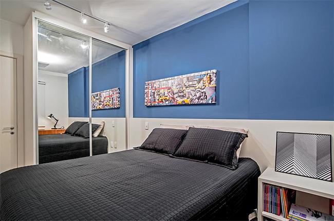 Apartamento masculino para solteiros Haus Decoração ~ Cor Verde Quarto Significado